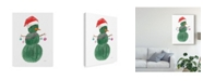 "Trademark Global Jenaya Jackson A Very Cactus Christmas I Canvas Art - 15"" x 20"""