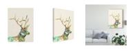 "Trademark Global Jennifer Goldberger Hi Fi Wildlife III Canvas Art - 20"" x 25"""