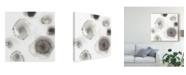 """Trademark Global June Erica Vess Concentric Petals II Canvas Art - 27"""" x 33"""""""