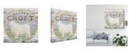 "Trademark Global June Erica Vess Farm Supply III Canvas Art - 15"" x 20"""