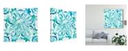 "Trademark Global Chariklia Zarris Meditation Tiles II Canvas Art - 20"" x 25"""