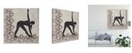 "Trademark Global Chariklia Zarris Yoga Bliss I Canvas Art - 15"" x 20"""