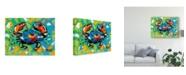 "Trademark Global Carolee Vitaletti Seaside Crab II Canvas Art - 15"" x 20"""