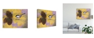 "Trademark Global Marcia Matcham Chickadee in the Pines II Canvas Art - 15"" x 20"""