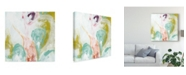 """Trademark Global June Erica Vess Scattershot II Canvas Art - 20"""" x 25"""""""