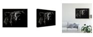 """Trademark Global Julie T. Chapman Scratchboard Critic Canvas Art - 20"""" x 25"""""""
