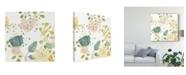 "Trademark Global June Erica Vess Garden Galore I Canvas Art - 15"" x 20"""