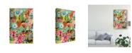 "Trademark Global Karen Fields Love to Travel I Canvas Art - 20"" x 25"""
