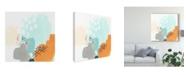 """Trademark Global June Erica Vess Precept III Canvas Art - 15"""" x 20"""""""