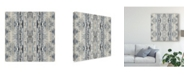 "Trademark Global Jennifer Goldberger Mirrored Strata II Canvas Art - 20"" x 25"""