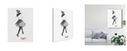 "Trademark Global Naomi Mccavitt Fashion Week Sketch I Canvas Art - 15"" x 20"""