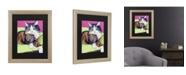 "Trademark Global Pat Saunders-White Ursula Matted Framed Art - 27"" x 33"""