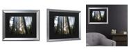 "Trademark Global Pierre Leclerc Sunrays Matted Framed Art - 20"" x 25"""