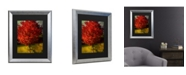 """Trademark Global Philippe Sainte-Laudy Autumn Red Matted Framed Art - 20"""" x 25"""""""