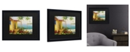 "Trademark Global Masters Fine Art Key West Villa Matted Framed Art - 15"" x 20"""
