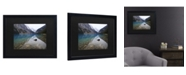 "Trademark Global Pierre Leclerc Lake Louise Matted Framed Art - 15"" x 20"""