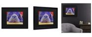 """Trademark Global Pat Saunders-White Graysea Matted Framed Art - 15"""" x 20"""""""