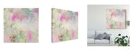 "Trademark Global Jennifer Goldberger Pastel Swoop I Canvas Art - 15"" x 20"""