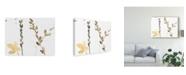 """Trademark Global Jennifer Goldberger Branch Contours VIII Canvas Art - 20"""" x 25"""""""