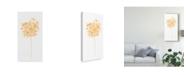 "Trademark Global June Erica Vess Bouquet Blush VI Canvas Art - 37"" x 49"""
