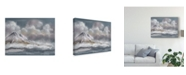 "Trademark Global Lois Bryan Clouds Mountains Sea Canvas Art - 20"" x 25"""