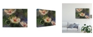 "Trademark Global Lois Bryan Night Blooming Dogwood Canvas Art - 20"" x 25"""