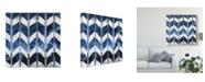 "Trademark Global June Erica Vess Indigo Impression I Canvas Art - 15"" x 20"""