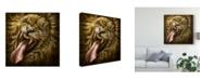 "Trademark Global Patrick Lamontagne Laughinglion Canvas Art - 15"" x 20"""