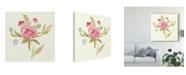 """Trademark Global Silvia Vassileva Petals and Blossoms V Canvas Art - 15"""" x 20"""""""