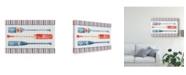 "Trademark Global Lisa Audit Nautical Life XI Canvas Art - 20"" x 25"""