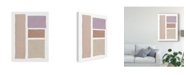 """Trademark Global Piper Rhue Painted Weaving III on White Blush Canvas Art - 20"""" x 25"""""""