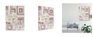 "Trademark Global Melissa Averinos Harbor Windows VIII Blush Canvas Art - 37"" x 49"""