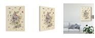 "Trademark Global Michael Tompsett Animal Map of Scotland For Children and Kids Beige Canvas Art - 15"" x 20"""