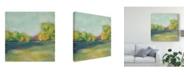 "Trademark Global Chariklia Zarris Parkview I Canvas Art - 15"" x 20"""