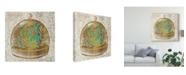 "Trademark Global Chariklia Zarris Glass Garden I Canvas Art - 15"" x 20"""