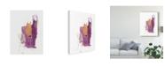"Trademark Global June Erica Vess Slipstream I Canvas Art - 37"" x 49"""