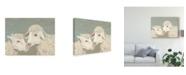 """Trademark Global Jade Reynolds Sweet Lambs II Canvas Art - 20"""" x 25"""""""