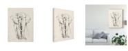 "Trademark Global Jennifer Goldberger Elephant Portrait Bold II Canvas Art - 20"" x 25"""