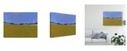 "Trademark Global Paul Bailey Distant Flax Canvas Art - 37"" x 49"""
