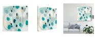 "Trademark Global June Erica Vess Sky Pebbles I Canvas Art - 20"" x 25"""