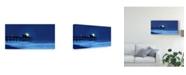 "Trademark Global James Mcloughlin Dusk & Water I Canvas Art - 20"" x 25"""