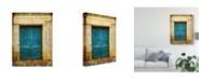 "Trademark Global Sandy Lloyd Postcards of Paris XI Canvas Art - 37"" x 49"""