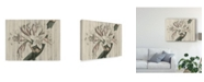 "Trademark Global Studio W Rustic Floral II Canvas Art - 20"" x 25"""