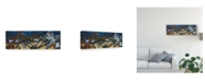 "Trademark Global Erin Mcgee Ferrell Leaf Panel I Canvas Art - 37"" x 49"""
