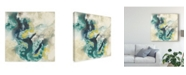 "Trademark Global Jennifer Goldberger Citron Satellites II Canvas Art - 15"" x 20"""