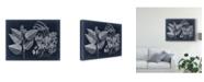 "Trademark Global Vision Studio Foliage on Navy III Canvas Art - 20"" x 25"""