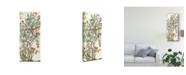 "Trademark Global Melissa Wang Traditional Chinoiserie III Canvas Art - 15"" x 20"""