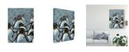 "Trademark Global Jennifer Rutledge Colony of Penguins I Canvas Art - 37"" x 49"""