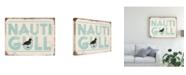 "Trademark Global Jj Brando Punny Nautical VI Canvas Art - 37"" x 49"""