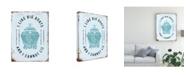 "Trademark Global Jj Brando Punny Nautical II Canvas Art - 37"" x 49"""